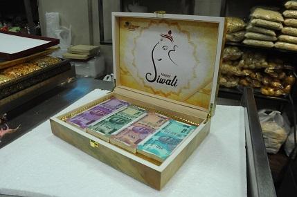 Gokul Shree Edible Almond Currency Box @5100 (7)