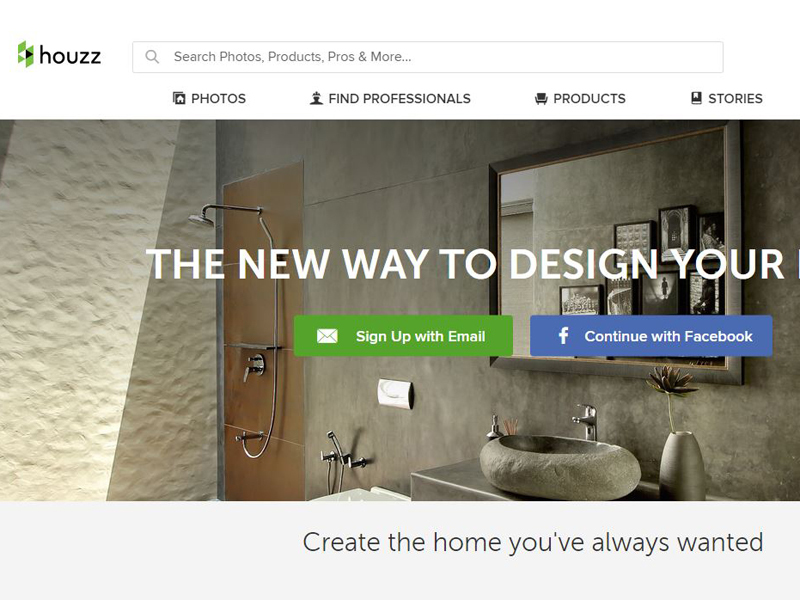 It Has Over 5 Million Images That Are Organised In Various Categories Like Style Room Location And More