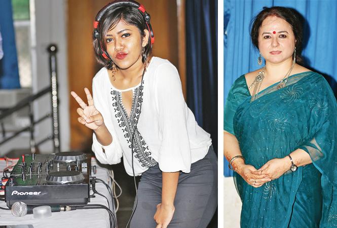 DJ Misthi (R) Dr Upma Chaturvedi (BCCL/ Aditya Yadav)