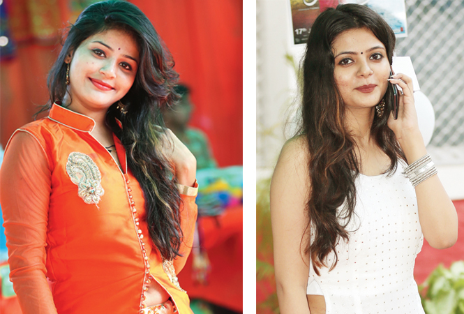 Mahima (R) Mehak (BCCL/ Aditya Yadav)