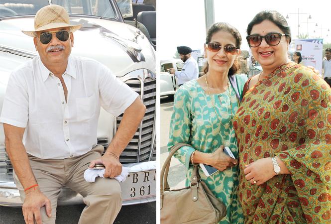 Paritosh Chauhan (R) Sona and Alka (BCCL/ Aditya Yadav)