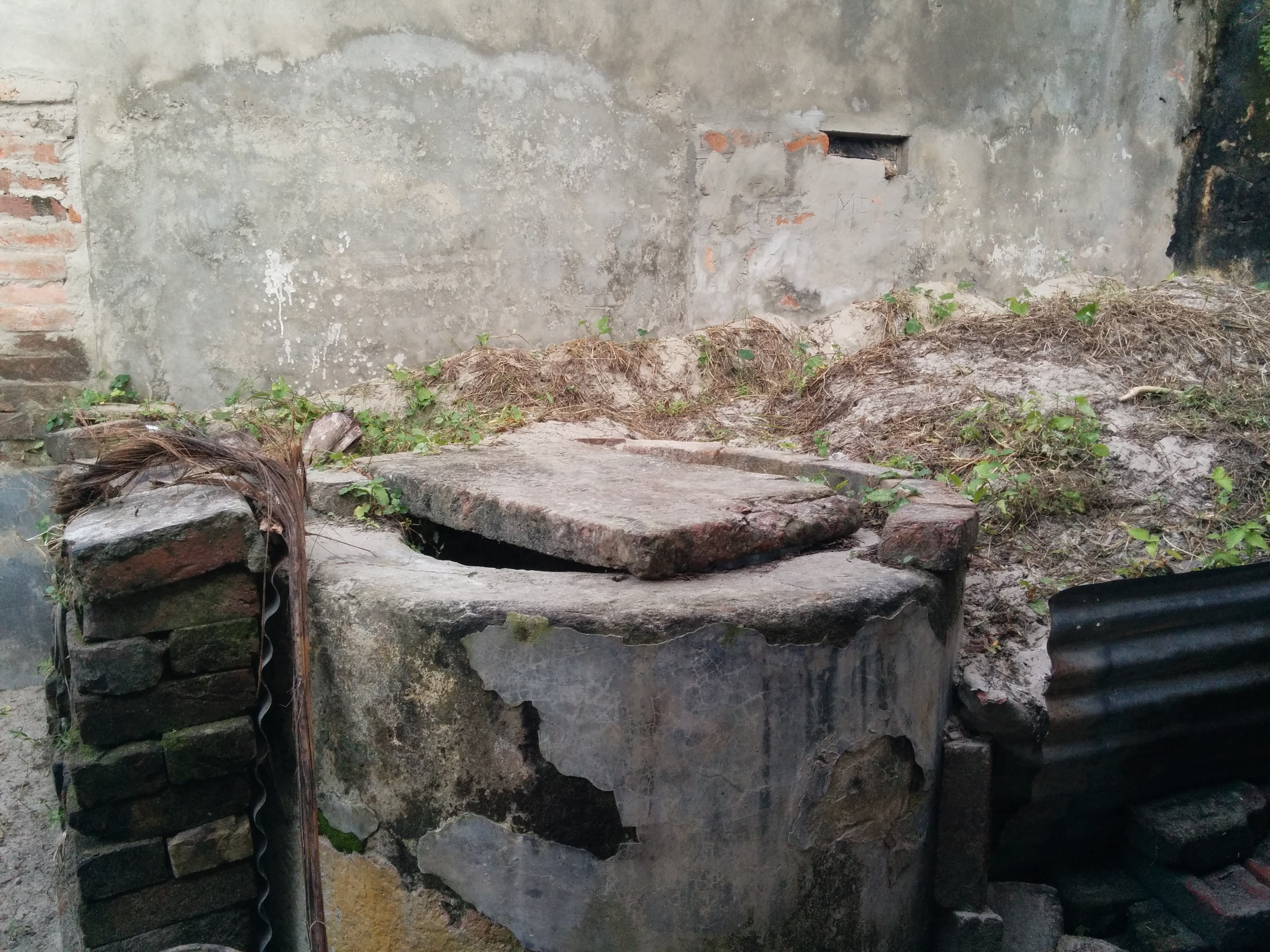 The well he used