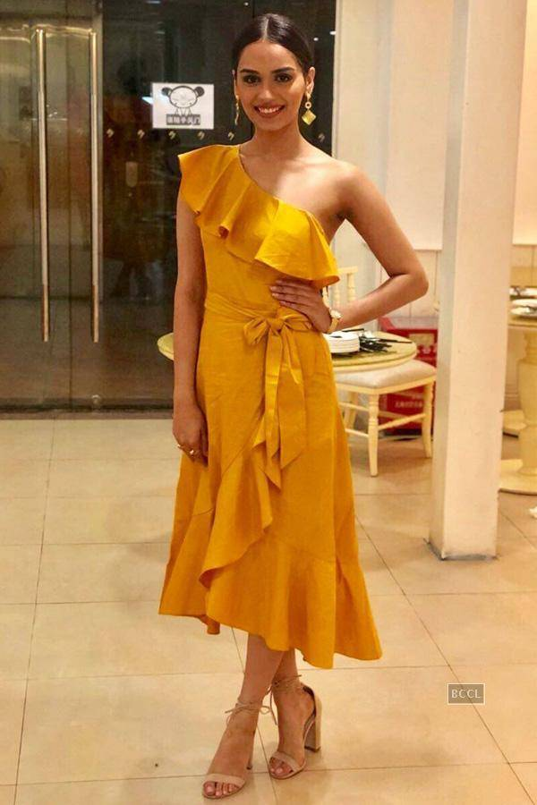 Manushi Chhillar at Miss World 2017 xxx