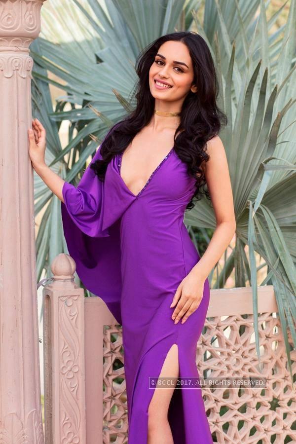 Miss India 2017 Official Glam Resort Wear Shoot of Manushi Chhillar