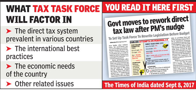 What Tax Task Force