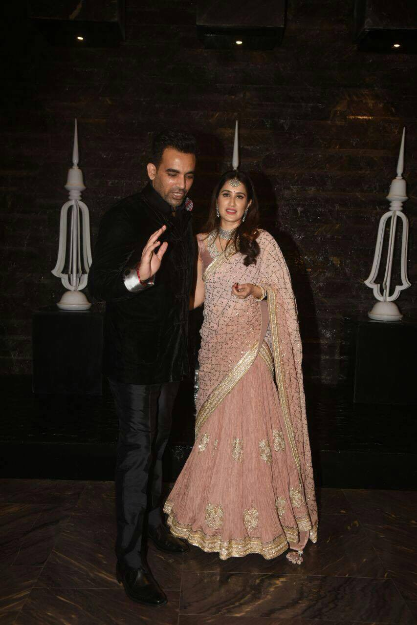 Sagarika Ghatge and Zaheer Khan Marriage Photos