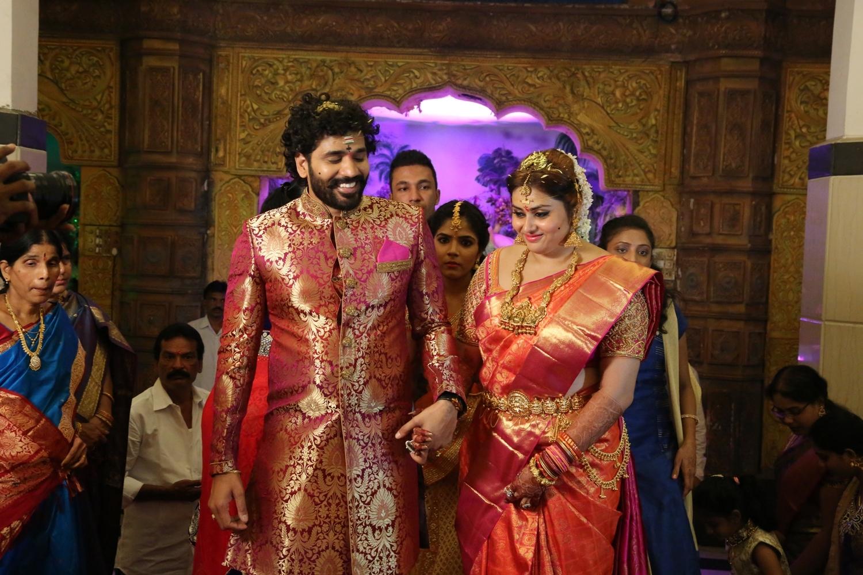 Bigg Boss Contestent Namitha Wedding Pics