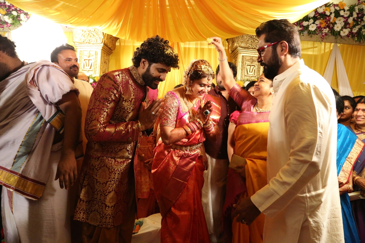 Namitha Veerandra Married Pictures