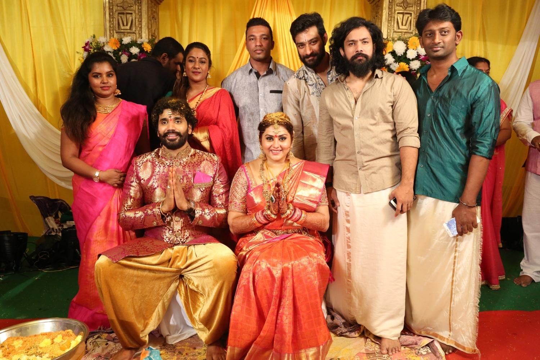 Namitha Wedding Photos, Veerandra Wedding Images