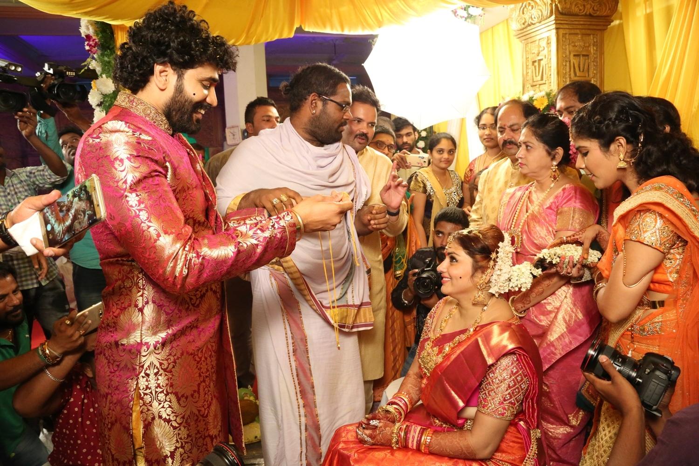 Veerandra and Namitha Wedding Pics
