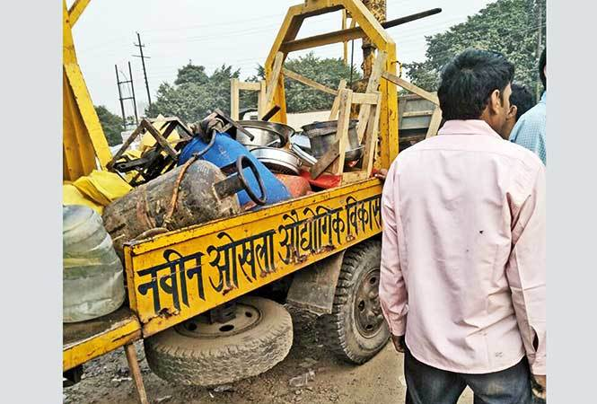 Noida Authority After Food Trucks At Sec 125 Were Removed By The
