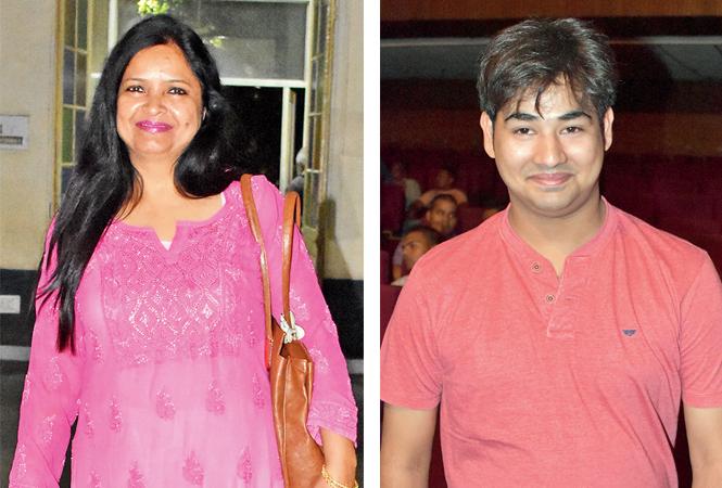 (L) Sharda (R) Tanmay Pradeep (BCCL/  Farhan Ahmad Siddiqui)