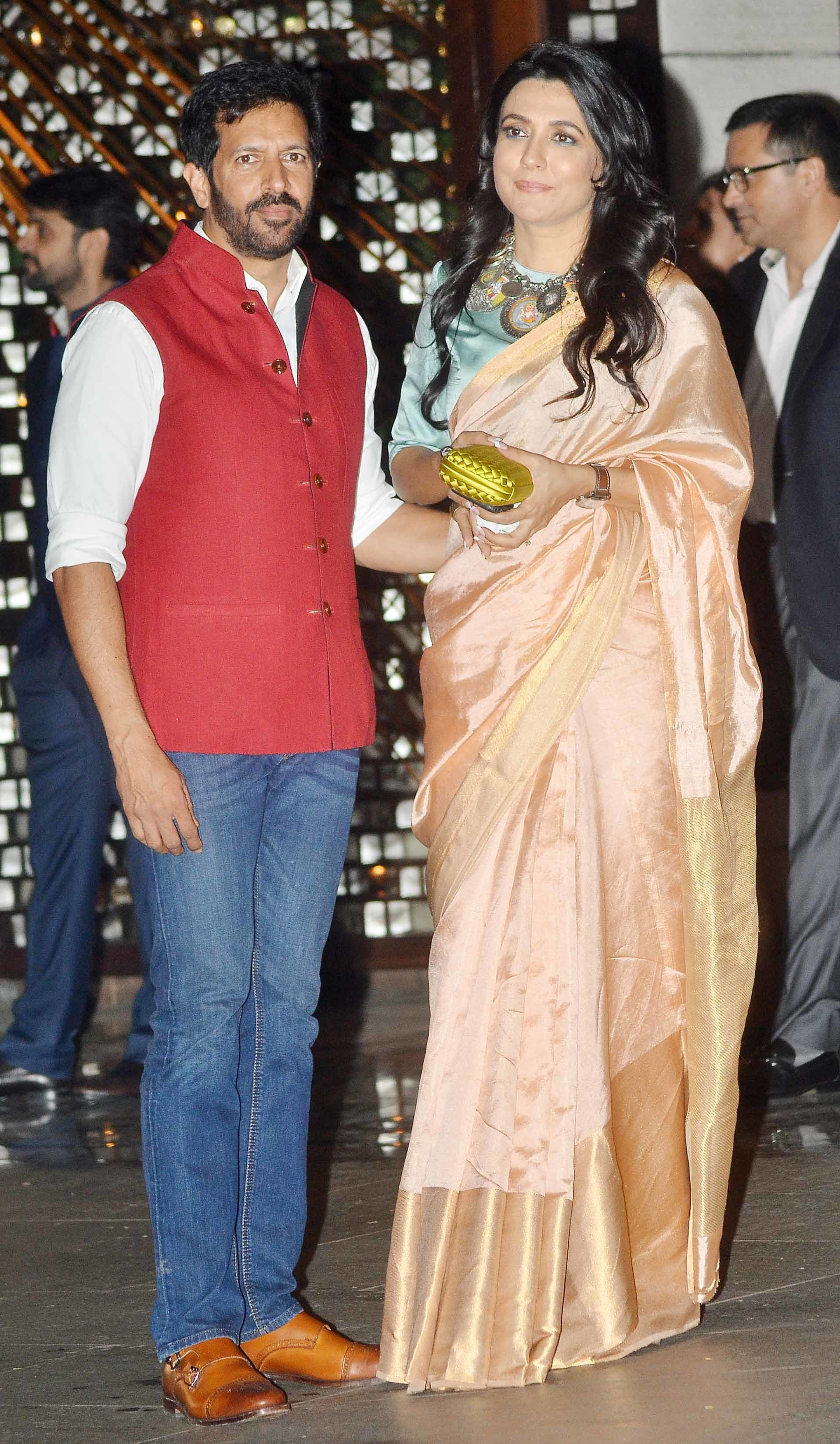 kabir Khan and Mini Mathur