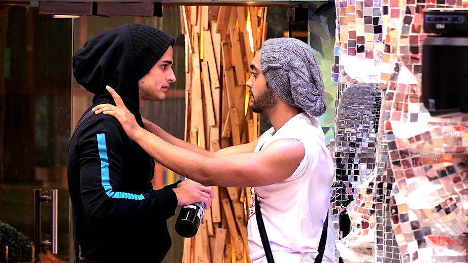 Priyank and Luv on Bigg Boss