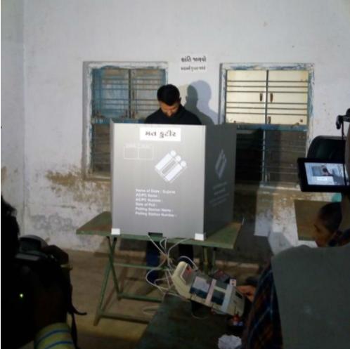 Pujara is the brand ambassador of Gujarat election commission