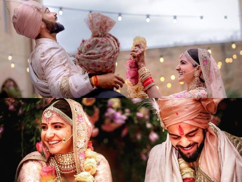 Virat Kohli - Anushka Sharma wedding photos