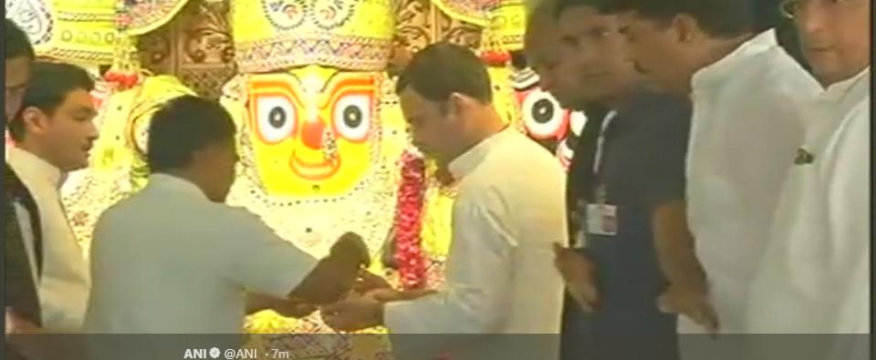 Jagannath temple rahul ani
