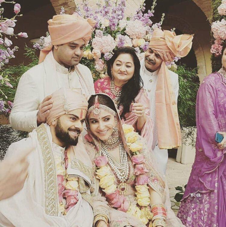 Anushka Virat Wedding Pics HD