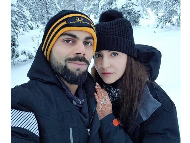 Anushka Virat honeymoon pictures