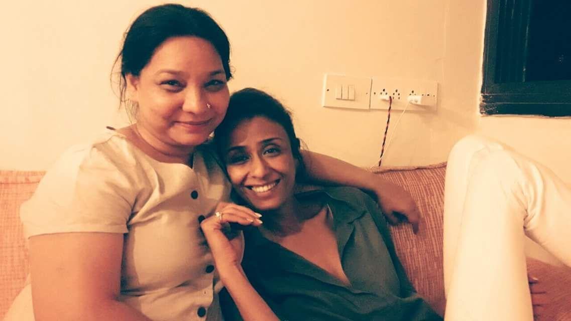 Sunita Rajwar with Achint Kaur