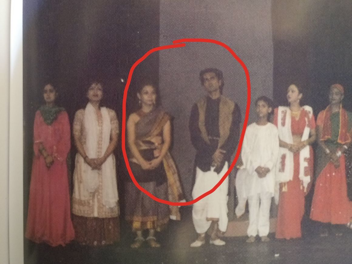 Picture of the play Nawazuddin and Sunita did together
