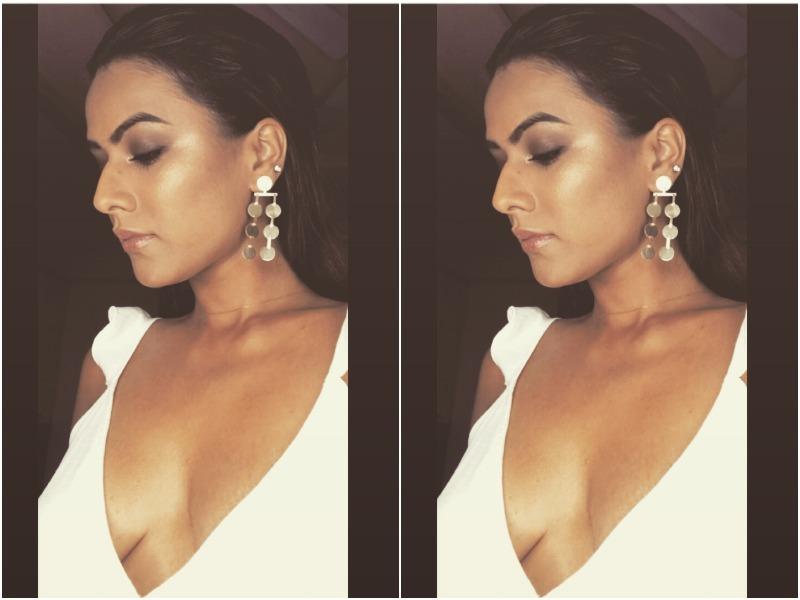 Nia Sharma in Sexy White Photo