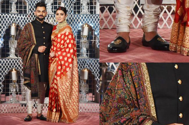 The Story Behind Anushka Virats Breathtaking Reception Outfits