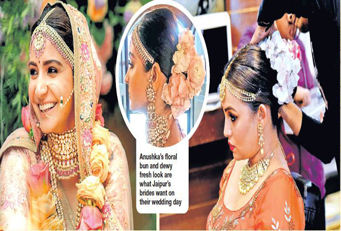 Anushka Sharma Trending Among Jaipur Brides Floralbuns Like