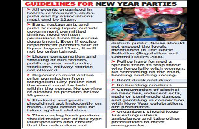 party organisers have stood their ground saying the purpose of new year parties is not accomplished if people arent allowed to croon the new year song