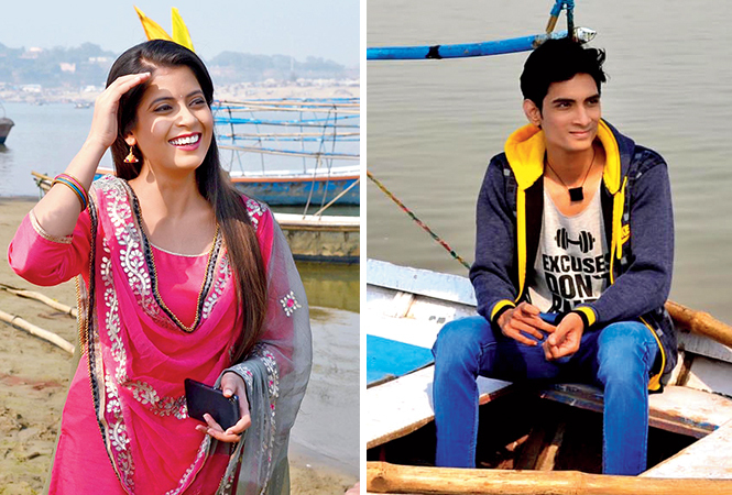 Anamika and Nikhil (R), the leads of the film (BCCL/ Pankaj Singh)