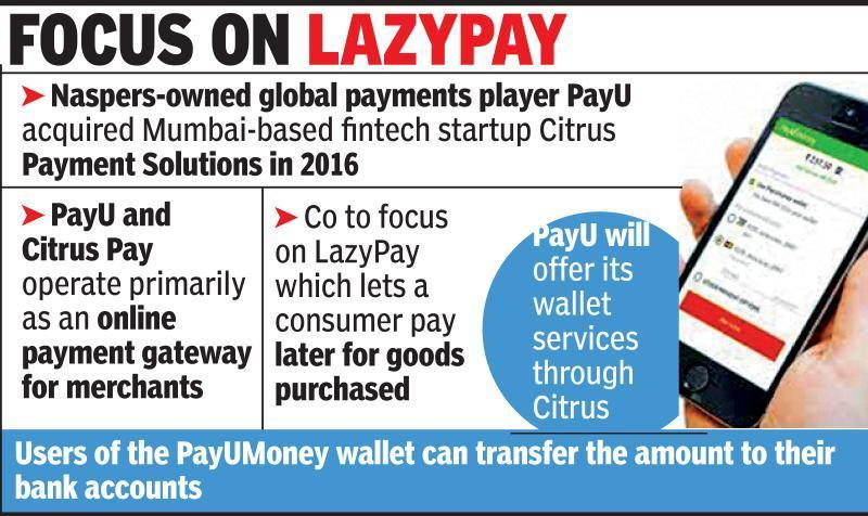 PayU Money wallet to shut, focus on credit play