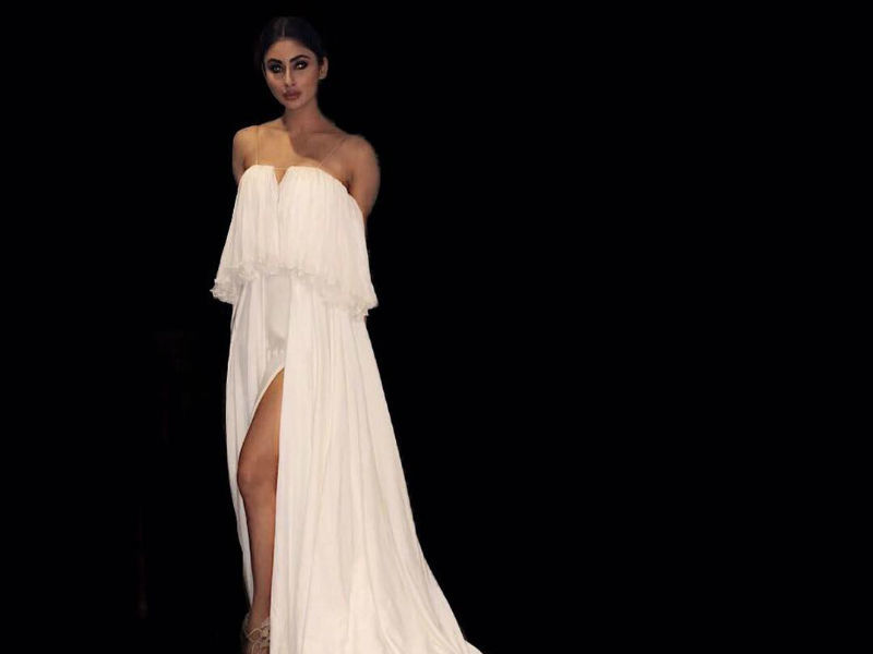 Mouni Roy is a vision in white