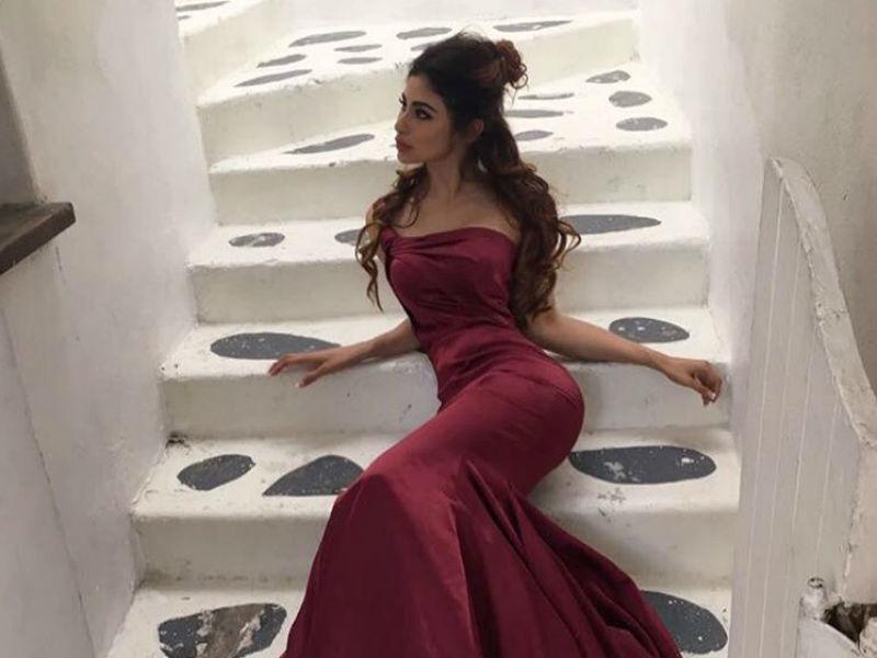 Mouni Roy strikes a pose