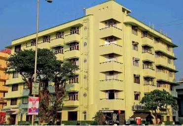 Southern facade of Sea Green Hotel