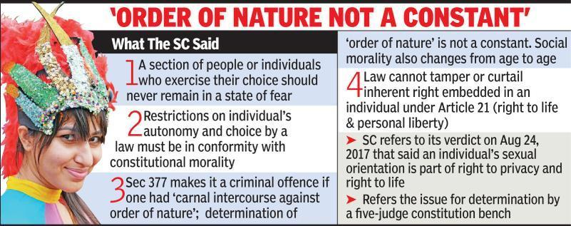 SC raises hope for gay community, agrees to reconsider Sec 377 verdict