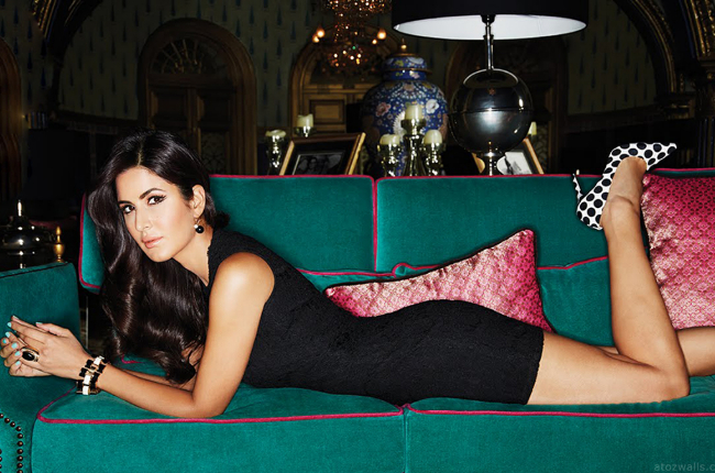 katrina kaif hot photo in black