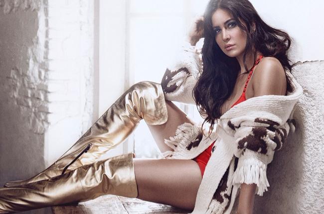 Katrina Kaif's Sexy Golden boots