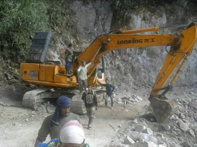 How Chinese Road Construction Activity In Arunachal Pradesh Was
