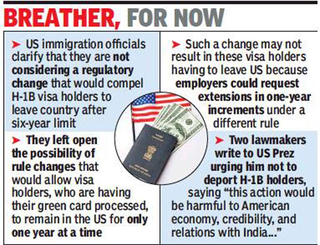 H1B Visa latest news 2018: USCIS backs down on H-1B culling