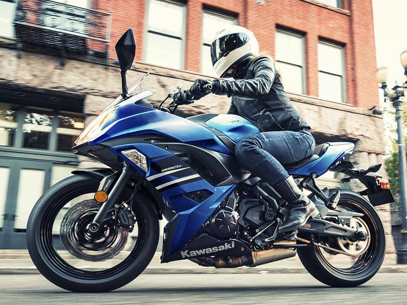 Kawasaki Ninja Kawasaki Ninja 650 Abs Launched In Blue Colour