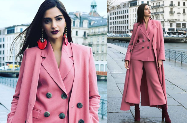 Sonam Kapoor nude outfit