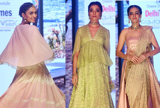 Sequins Sparkle At Delhi Times Fashion Week Delhi News Times Of India