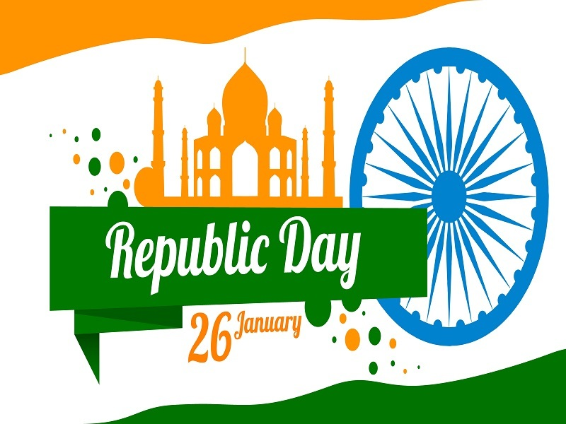 Republic day 2018 patriotic wishes whatsapp status lovely republic day cards greeting pictures m4hsunfo