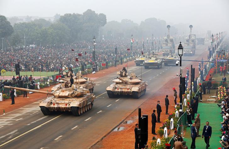 R day combat vehicles Reuters