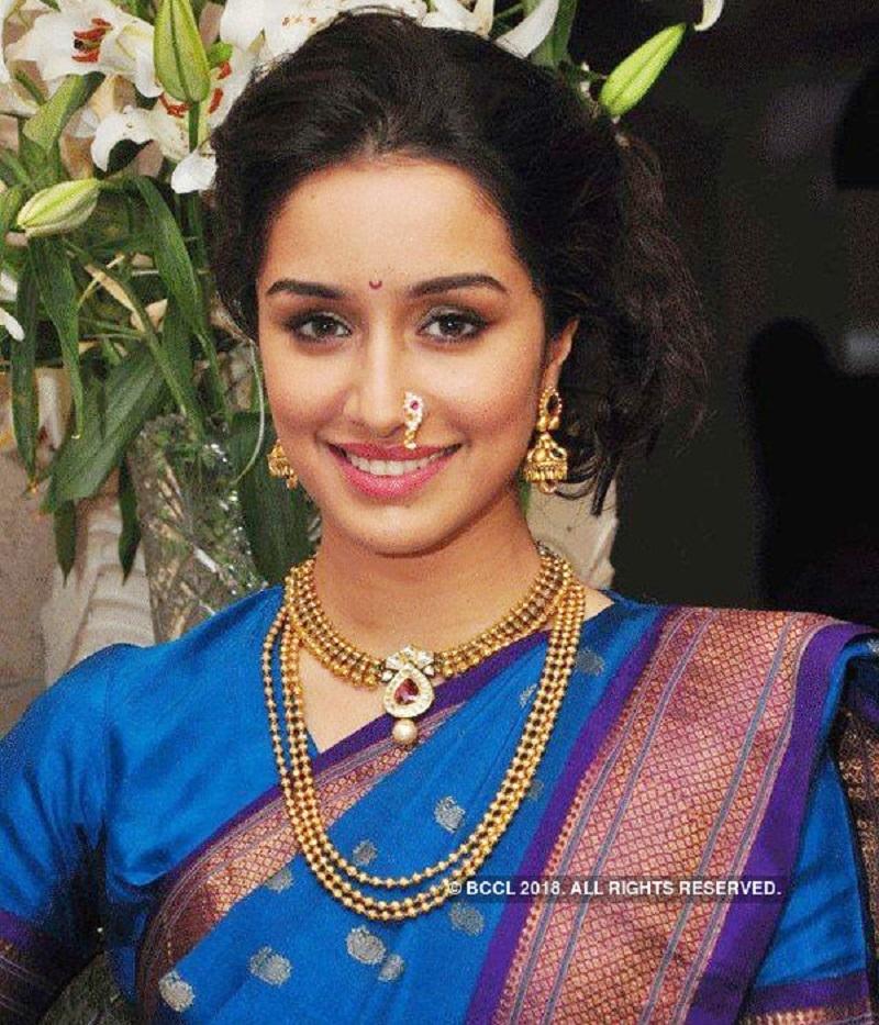 Shraddha Kapoor Cute Photo in Saree xxx