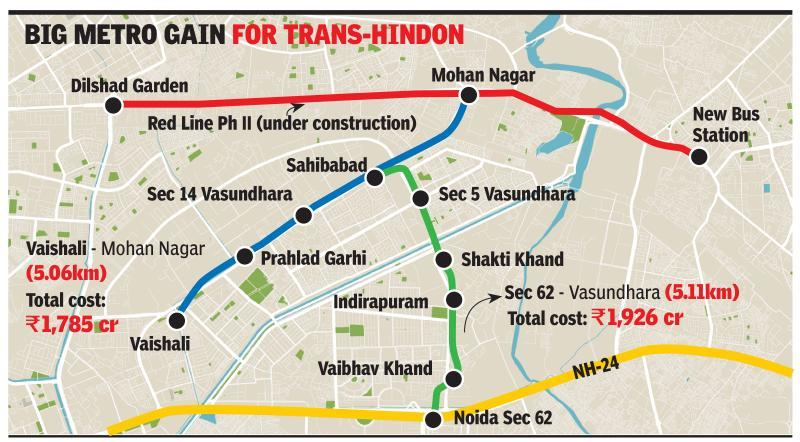 DMRC submits plan to extend metro from Noida to Ghaziabad