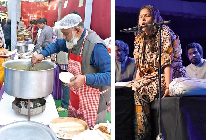 The food festival witnessed a huge turnout while Sabika Abbas' shayari kept the guests engrossed (BCCL/ Farhan Ahmed Siddiqui and Vishnu Jaiswal)