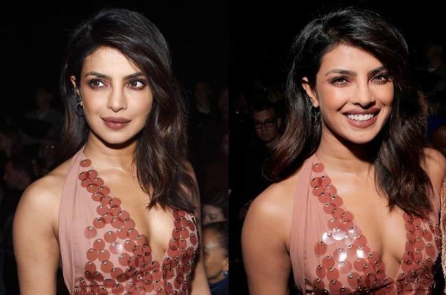 Priyanka Chopra looks hot at Bottega Venetta show