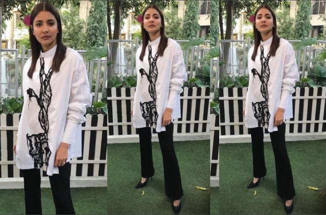 Anushka Sharma Pari promotions