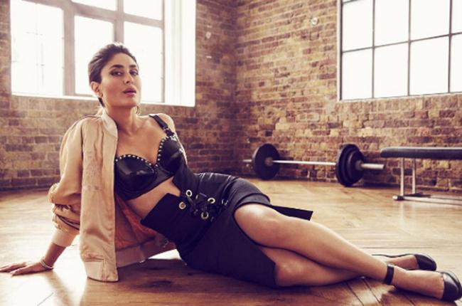 Kareena kapoor leather dress
